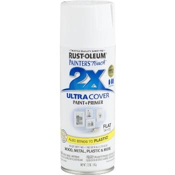 Rust-Oleum 249126 Spray Paint - 2X Ultra ~ Flat White