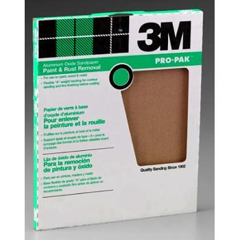 3M 051144855933 Sandpaper, Aluminum Oxide ~ 36 Grit