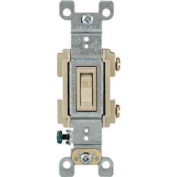 Toggle Quiet Switch ~ Ivory