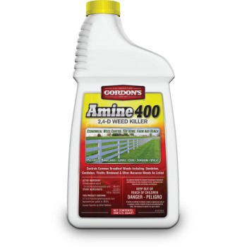 Amine 400 ~ 2, 4-D Weed Killer, 1 Quart