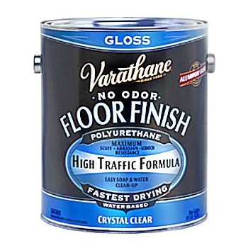 Crystal Clear Wood Floor Finish,  Gloss ~  1 Gallon