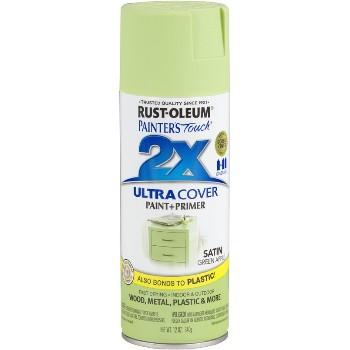 Rust-Oleum 249077 Ultra Cover 2X Spray ~ Green Apple  Satin