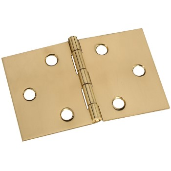 Solid Brass/Pb Dsk Hinge, Visual Pack 1805 2 x 3 - 1/16 inches