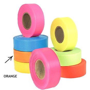 Flagging Tape, Orange
