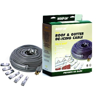 Roof & Gutter De-Icing Cable, 40 Feet