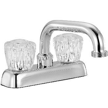 2 Handle Laundry Faucet Chrome