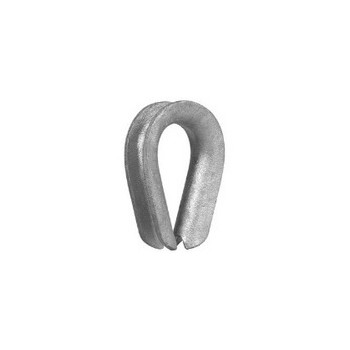 Wire Rope Thimble - 1/8 inch