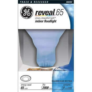 GE 48692 Floodlight, Reveal 65 watt
