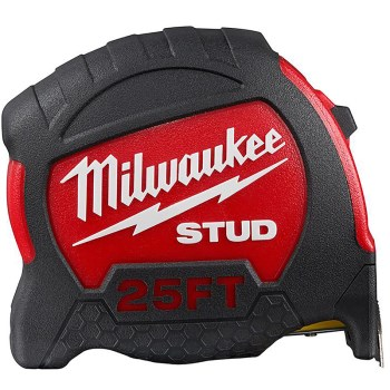 Millwaukee Brand Stud™  Tape Measure ~ 25 Ft