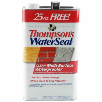 Multi-Surface WaterSeal ~ Bonus Size,  Gallon + 25 oz