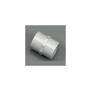 PVC Threaded Coupling, 1 inch