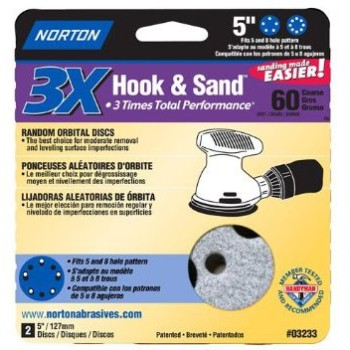 Norton 0 03233 Prosand 60 H&L Disc