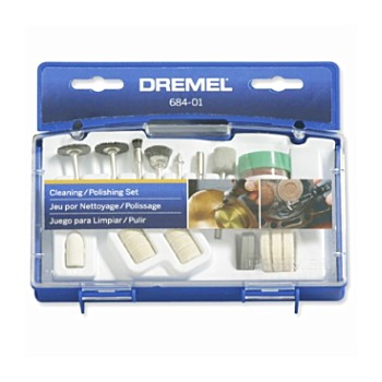 Dremel 684-01 Clean & Polishing Set, 20 pieces