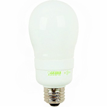 Compact Fluorescent Light Bulb, Household 9 Watt