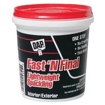 Dap Pint Fast'N Final Spackling Interior & Exterior