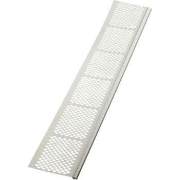 Amerimax   85370 Snap Gutter Cover, White ~ 3