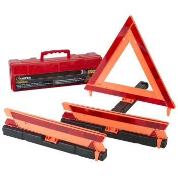 Hampton Prods 04911 3pk Safety Triangle