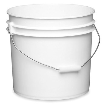 Industrial Pail ~ White, 3.5 Gallon