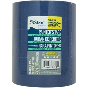 Linzer  TPBDT 3PK0200 Painters Tape, 4 Pack ~ 2""