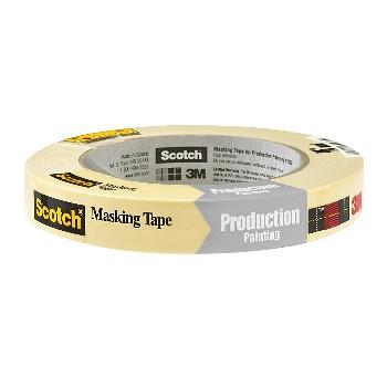 """3M 021200694769 Masking Tape - 0.75"""" X 60 yds."""