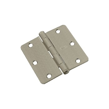 Door Hinge - 3.5 inches - 1/4 inch radius