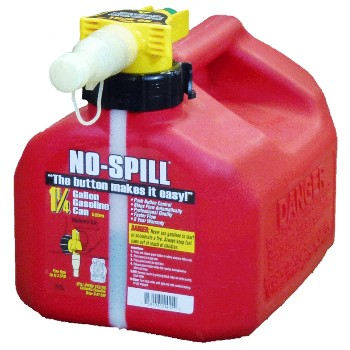 Gas Fuel Can, No Spill ~ 1.25 Gallon