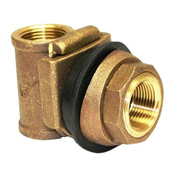 Adapter, Brass Pitless ~ 1""