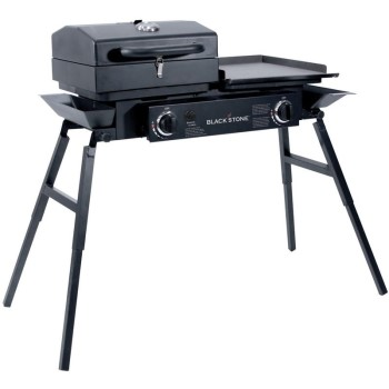 Nor Atlantic Imports 00-1555 Blackstone Tailgater Combo Grill Tailgate Party Season