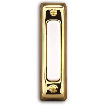 "Doorbell Button, .75"" W x 2.75"" H"