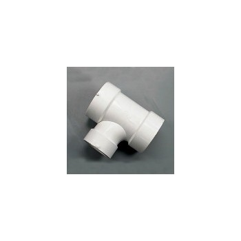 "Genova Prod 71143 Sanitary Tee, 4"" x 4"" x 3"""