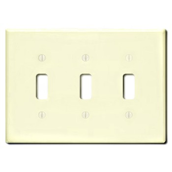 3-Gang Switch Plate