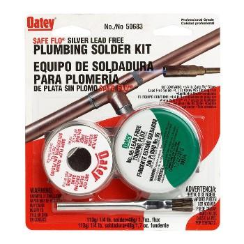 Oatey 50683 Safeflo Silver Solder Kit
