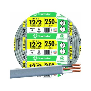 Underground Feeder Cable  - 12/2G ~ 250 Ft