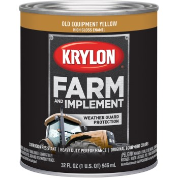 Krylon K02042000 2042 Qt Old Equipment Yellow