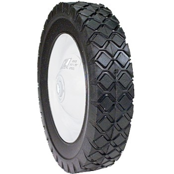 Lawnmower Wheels- Rubber w/Steel Wheel - 8 x 1.75""