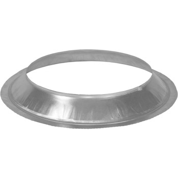 Type B Gas Vent Storm Collar, Galvanized Steel ~  5""