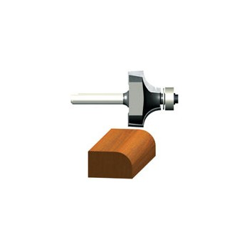 Roundover and Beading Router Bit - 7/8 x 1/2 x 2 1/8 inch