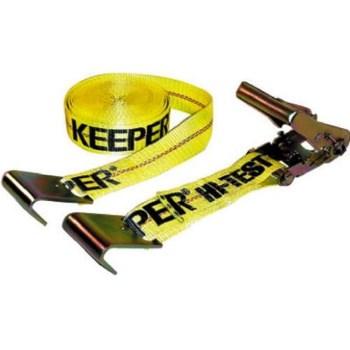 "Keeper 4623 Flat Hook Ratchet Tie-Down ~ 2"" x 27 Ft"