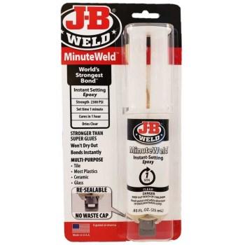 J-B Weld 50101 25ml Minuteweld Syringe
