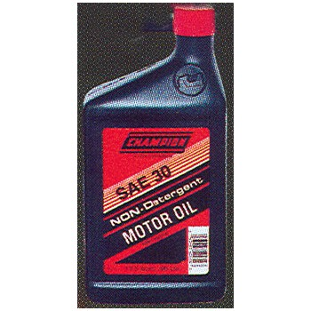 Buy The Champion 4005h Motor Oil Non Detergent 30w