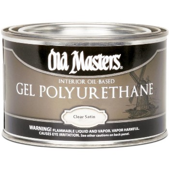 Gel Polyurethane - Clear - 1/2 Pint