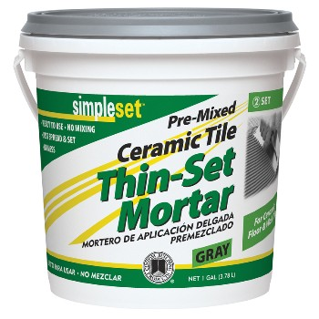 Custom Building Prod. CTTSG1-2 Thin-Set Mortar,  Premixed Grray  ~ Gallon