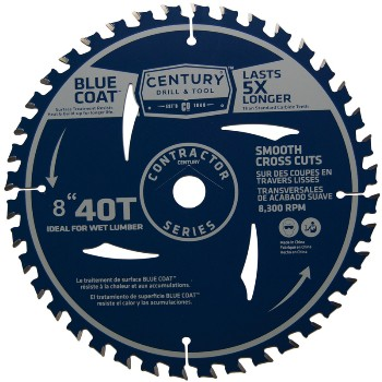 8in. -40t Finish Saw Blade
