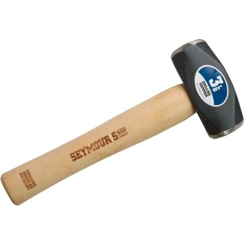 Drilling Hammer, Wood ~ 3 Lb.