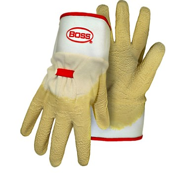 Rubber Gloves, Wrinkle Finish ~ One Size Fits Most