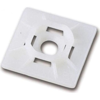 "Cable Tie Mounting Bases ~ 1"" x 1"""