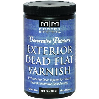Exterior Dead Flat Varnish ~ 32 ounce