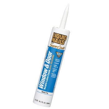Liquid Nails AHE13012WH051 Lc-130 10.1oz Wh Win/Dr Caulk