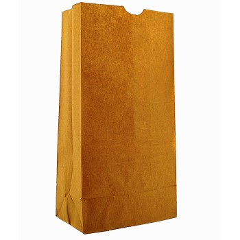 Clayton Paper DUR18420 20# Brown Grocery Bag