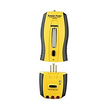 Sperry Circuit Tracker/Circuit Breaker Locator & GFCI Tester